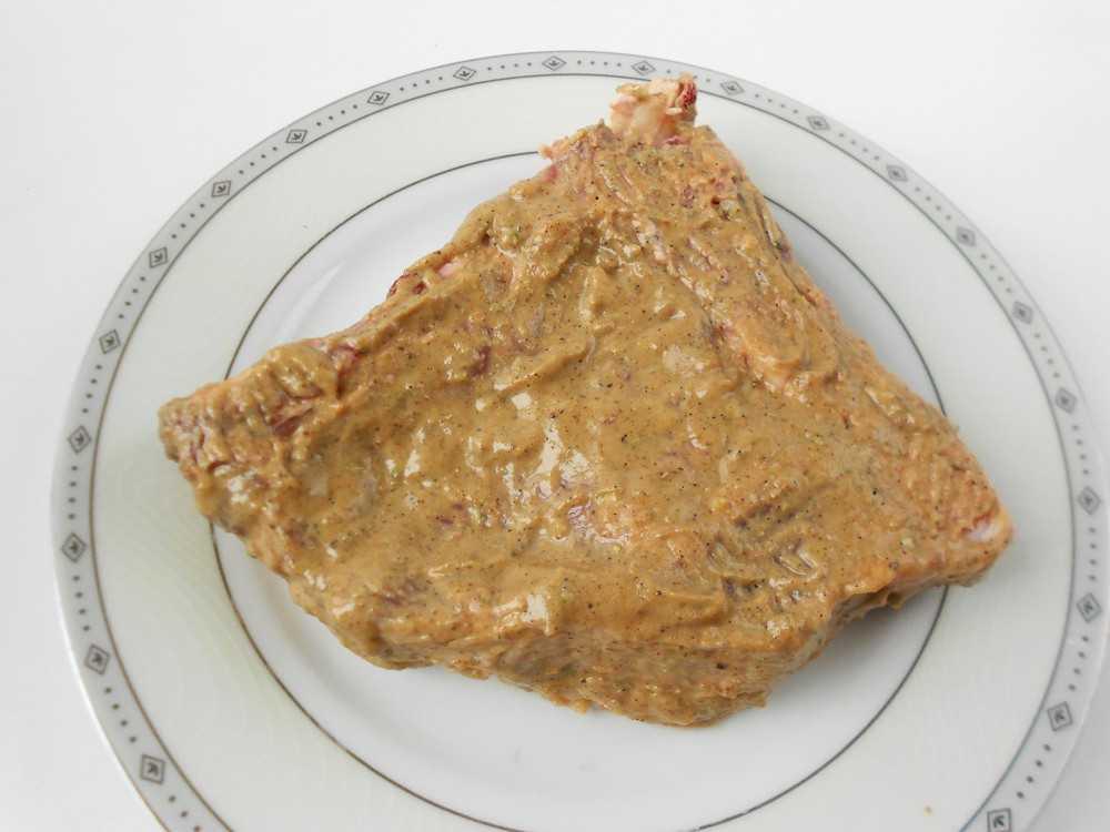 Говяжий отруб натертый соусом Тех-Мех