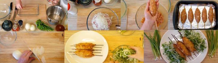 рецепт кебаба в духовке