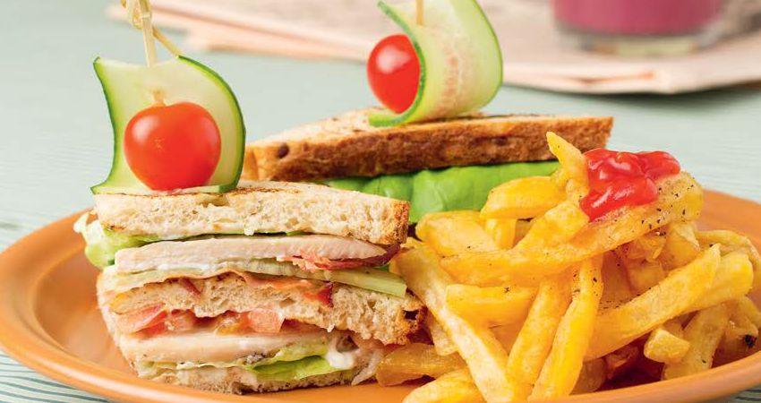 Клаб-сэндвичи с птицей