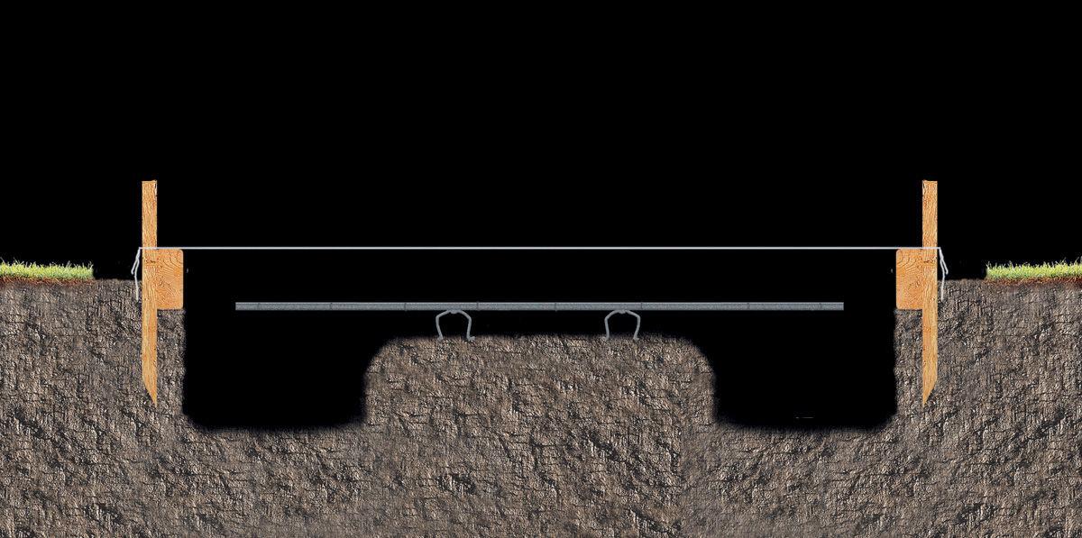 Фундамент мангала-гриля из кирпича