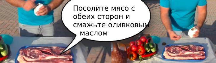 маринад для мяса на гриле за 5 минут