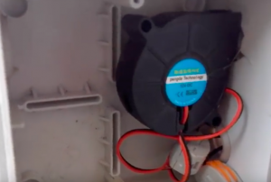 вентилятор для коптильни