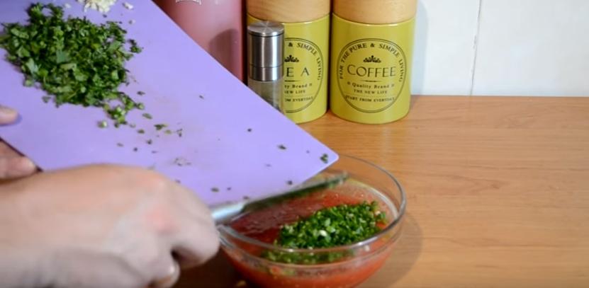 соус из томатов для шашлыка