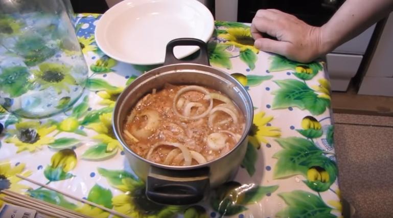 маринад для домашнего шашлыка