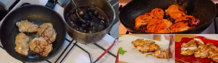 рецепт курици терияки