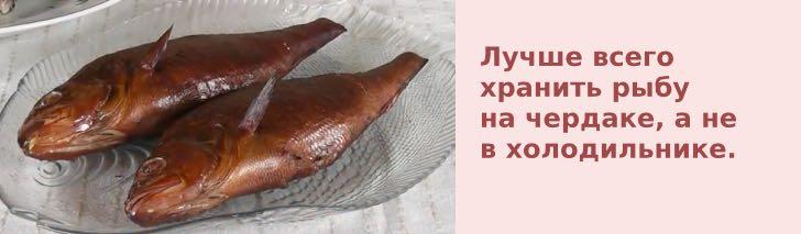 хранение рыбы на чердаке