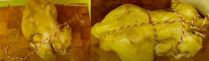готовим курицу холодного копчения