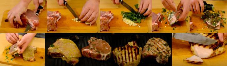 рецепт стейка из свинины