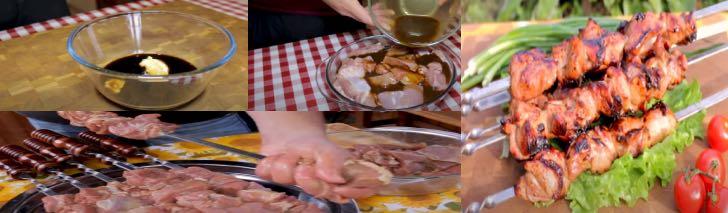 вкусный шашлык из индейки