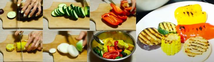 овощи гриль в домашних условиях