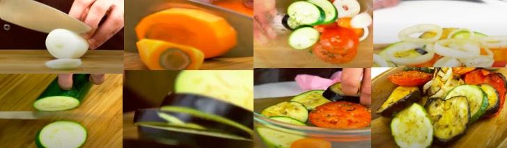 овощи гриль на аэрогриле