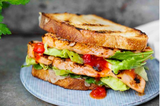 сэндвич на электрогриле