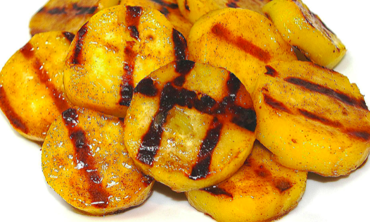 картофель на электрогриле